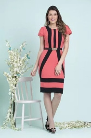 Vestido Evangelica Elegante Mega Promoçao !!cod#0c+