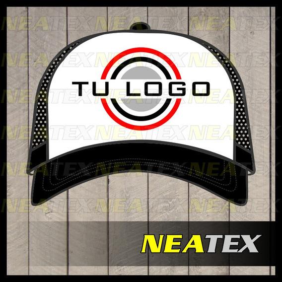 Gorras Trucker Estampadas Personalizadas Logo Nombre Empresa