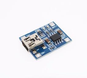 Tp4056 Mini Usb Carregador Bateria Litio 1a 5v Lithium