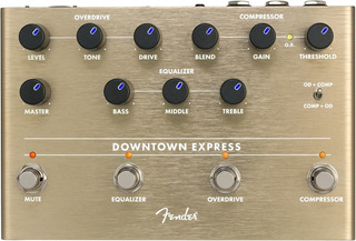 Fender Downtown Express Pedal Multiefecto Para Bajo