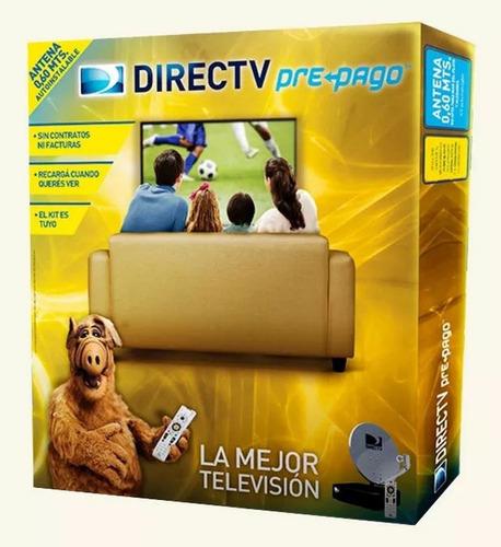 Directv Prepago Sin Abono Kit Autoinstalable Anten De 0,60mt
