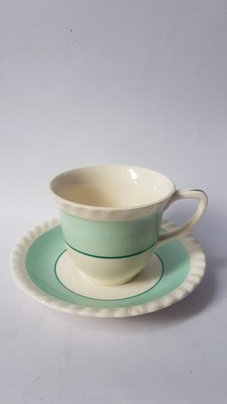 Taza De Café Con Plato Loza Inglesa Johnson Bros England