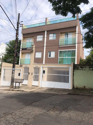 Cobertura Residencial À Venda, Vila Alzira, Santo André - Co50226. - Co50226