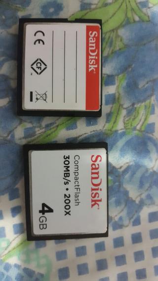 Compact Flash 4gb 200x (precio Publicado)