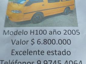 Hyundai H 100 Año 2005 Furgón Escolar