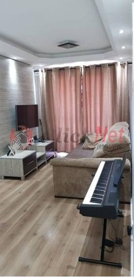 Apartamento Em Condomínio Padrão Para Venda No Bairro Baeta Neves, 3 Dormitórios, 1 Vaga, 65 M² - 5389