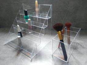 Expositor De Esmaltes E Uma Linda Caixa De Pincel
