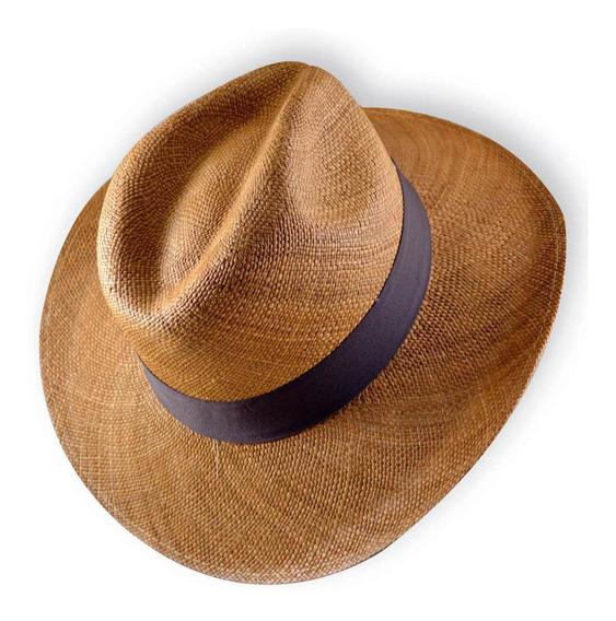 Sombrero Panama De Jipijapa Unisex Palma Toquilla Ecuador