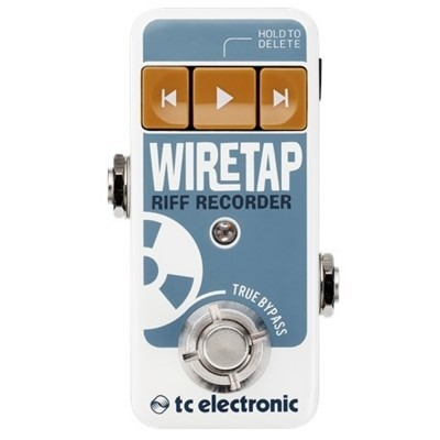Pedal Tc Electronic Wiretap Riff Recorder Looper + Nf
