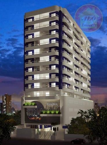 Apartamento À Venda, 80 M² Por R$ 378.000,00 - Vila Guilhermina - Praia Grande/sp - Ap4212