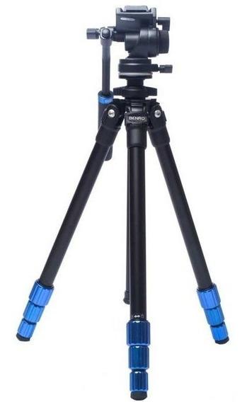 Tripé Benro Tsl08as2csh Slim Para Vídeo 1.45m 2,5kg
