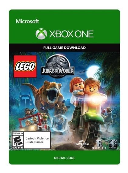 Lego Jurassic World - Xbox One Código 25 Digitos Brasil