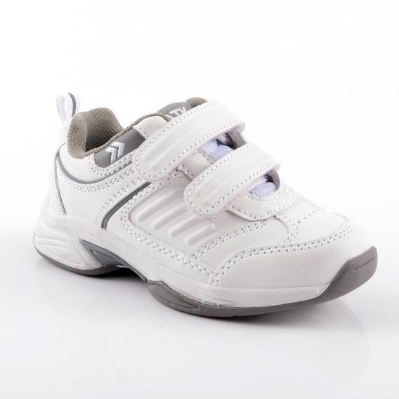 Zapatilla Atomik Footwear - 1986-at-0048-k-blanco Y Gris