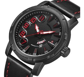 Reloj Hombre Naviforce Nf9154 Cuero Calidad Estilo