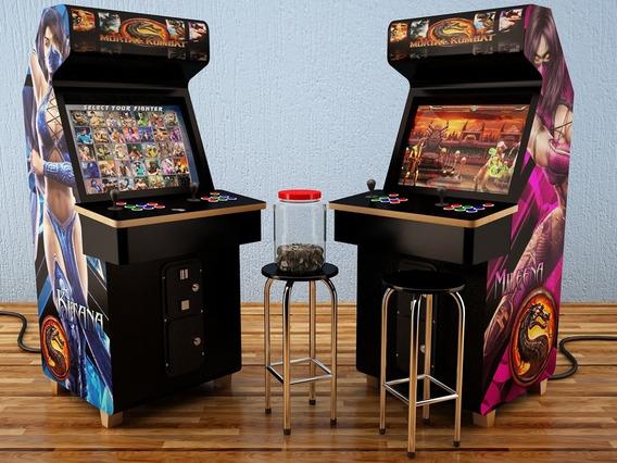 Fliperama Medidas Arcade + 60 Modelos ( Projetos ).