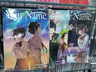 Your Name 3 Tomos + Envio Gratis