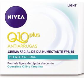 Crema Facial Día Humectante Fps 15 Nivea Q10 Antiarrugas