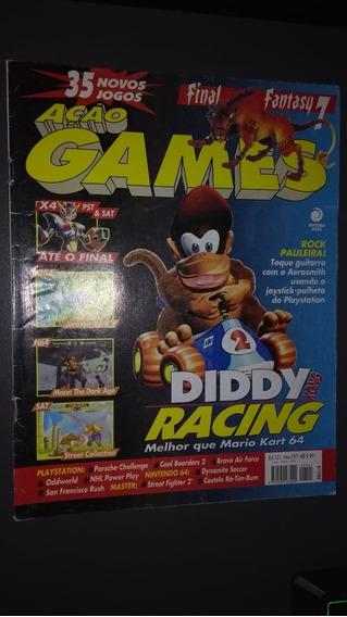 Ação Games 121 Novembro De 1997 Impecável