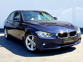 Bmw 316i 1.6 Sedan Turbo Azul Com Interior Bege