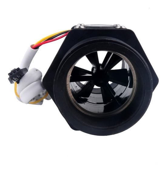 Fluxímetro Fluxo Água Hall Sensor G 2 Pol 10-200l Dn50
