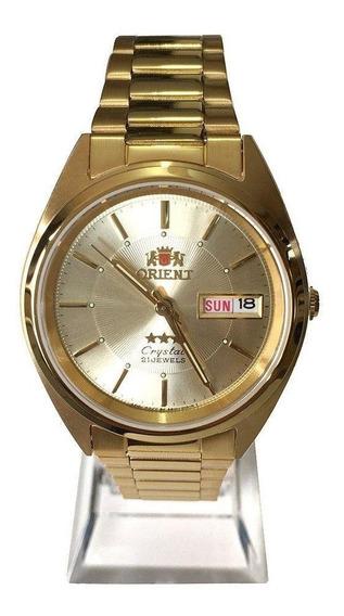 Relógio Orient Automatico Masculino Dourado - Original