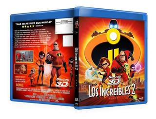Los Increibles 2 Peliculas Blu Ray 2d Y 3d