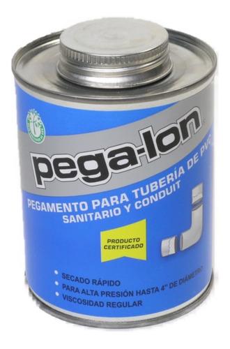 Imagen 1 de 2 de Pegalon Pegamento Pvc Conduit Transparente 1 Bote De 250 Ml