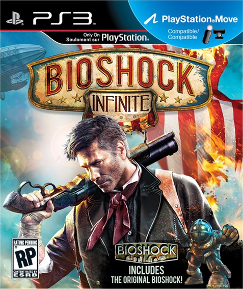 Bioshock Infinite Ps3 Original Completo Legendas Português