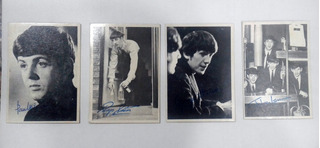 Figuritas Fotos The Beatles Lote X 4