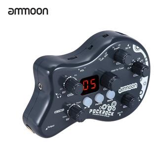 Guitarra Portátil Multiefectos Procesador Efecto Pedal