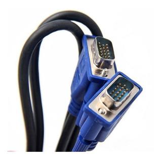Cable Vga A Vga Macho A Macho Para Monitor Lcd 1.8m