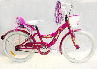 Bicicleta Infantil Niña - Mao Lola Rodado 20(envio Gratis)