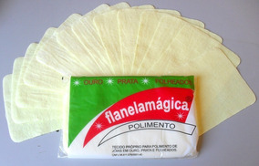 Flanelas Magicas 12 Pacotes Com 12 Unidades Limpa Joias