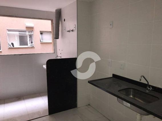 Apartamento Residencial À Venda, Fonseca, Niterói. - Ap1003
