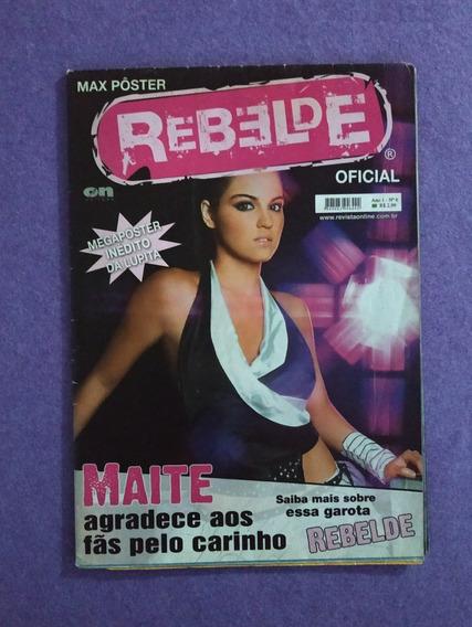 Rbd Maite Lupita Revista Megapôster Rebelde Ano 1 No.6