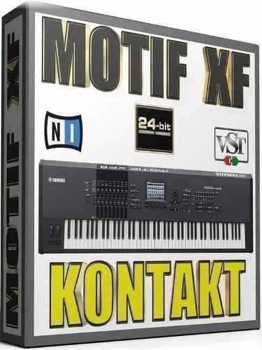 Teclado Yamaha Motif Xf Samples Kontakt (win&mac)