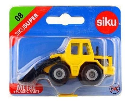 Maquina Con Cargador Frontal - Siku Super 08 - 1/64