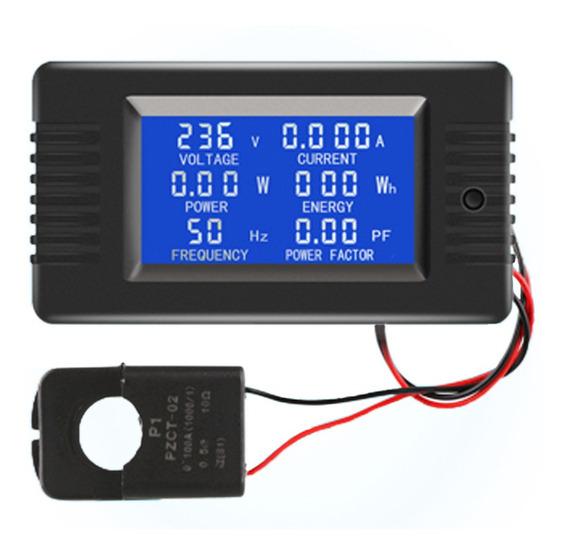Display Digital Ac Monitor De Energia Medidor Voltímetro