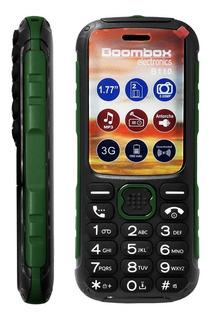 Celular Mp3 B110 Uso Rudo Verde Boombox