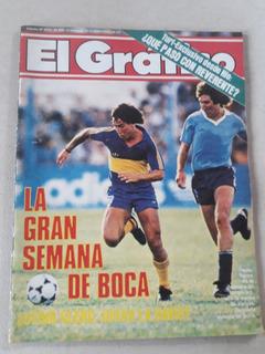 Revista El Gráfico Nº 3414 Año 1985 Tapia Boca Temperley