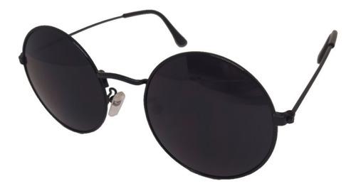 Óculos De Sol Yacht Sport Redondinho Round Frame Preto Top