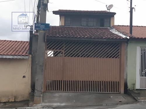 Casa A Venda No Bairro Jardim Bela Vista Em Guarulhos - Sp.  - 2477-1