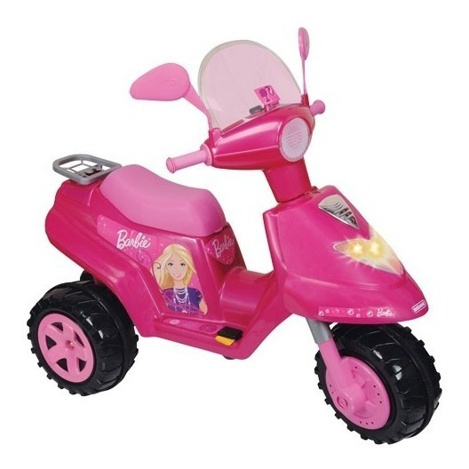 Moto Scooter Nena A Bateria Barbie Biemme 6 Volt Baby Movil