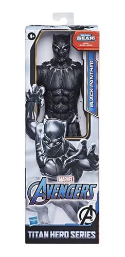 Boneco Articulado Avengers Black Panther Blast Gear Hasbro