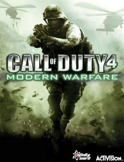 Call Of Duty 4 Modern Warfare - Pc (original Key)