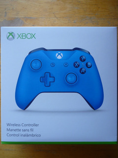 Xbox One Windows10 Control Edicion Especial Blue Nuevo