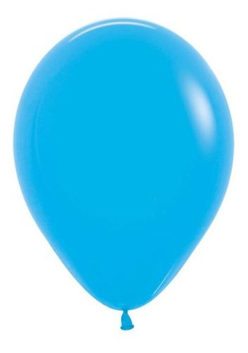 Globos R-12 Fashion Azul - Sempertex X 50