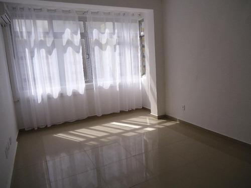 Apartamento Com 3 Dormitórios Para Alugar Por R$ 3.300,00/mês - José Menino - Santos/sp - Ap5327