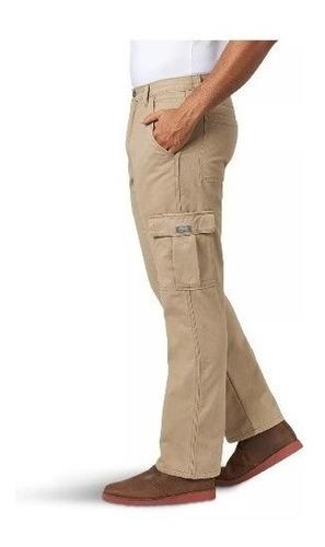 Pantalon Caballero Wrangler Tipo Cargo Casual Hombre 44x32 Mercado Libre
