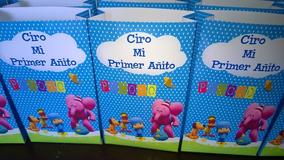 82ddaa3cc Bolsas Para Sorpresa De Cumpleaños Pocoyo - Souvenirs para tu ...
